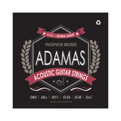 Adamas Acoustic Guitar Strings Extra Light .010 - .047