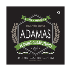 Adamas Acoustic Guitar Strings Medium .013-.056