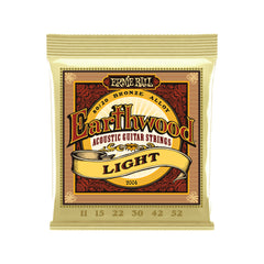 Ernie Ball Earthwood Light 80/20 Bronze Acoustic Guitar Strings - 11-52 Gauge