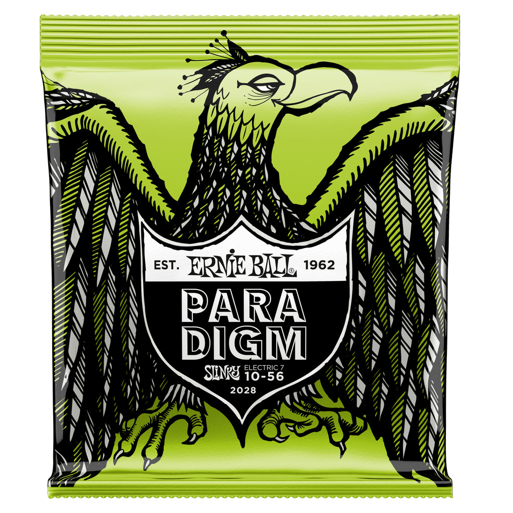 Ernie Ball Regular Slinky Paradigm 7-String Electric Guitar Strings 10-56