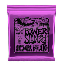 Ernie Ball Power Slinky Nickel Wound Electric Guitar Strings - 11-48 Gauge