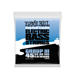 Ernie Ball Flatwound Group III Electric Bass Strings - 45-100 Gauge