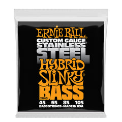 Ernie Ball Hybrid Slinky Stainless Steel Electric Bass Strings - 45-105 Gauge