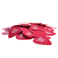 Ernie Ball Heavy Red Cellulose Picks, bag of 144
