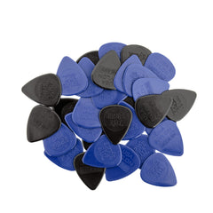 Ernie Ball Mixed Thickness Nylon Picks (Medium, Heavy) bag of 50