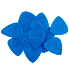 Ernie Ball Thin Injection Molded Nylon Picks 0.53mm bag of 12