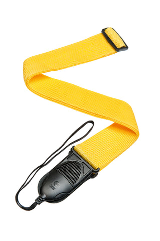Planet Waves Acoustic Quick Release Guitar Strap, Yellow