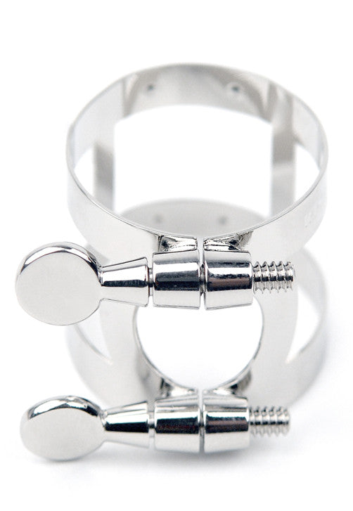 Rico Ligature, Alto Saxophone, Nickel Plated