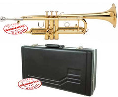 Rossetti Student Lacquer Gold Bb Trumpet