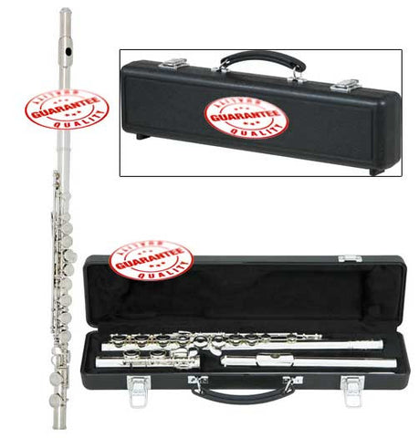 Rossetti C Flute Closed Hole Silver Plated