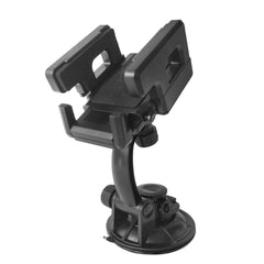 D'Luca Car Windshield Dashboard Cell Phone Mount, Adjusts 2 to 4.5 Inches, Black