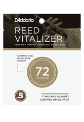 Rico Reed Vitalizer Humidity Control - Single Refill Pack, 73% Humidity