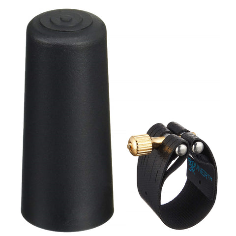 Rovner Dark Series Baritone Saxophone Ligature And Cap