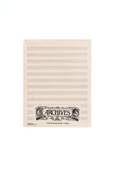 Archives Manuscript Score Pads, 12 Stave, 50 Sheets