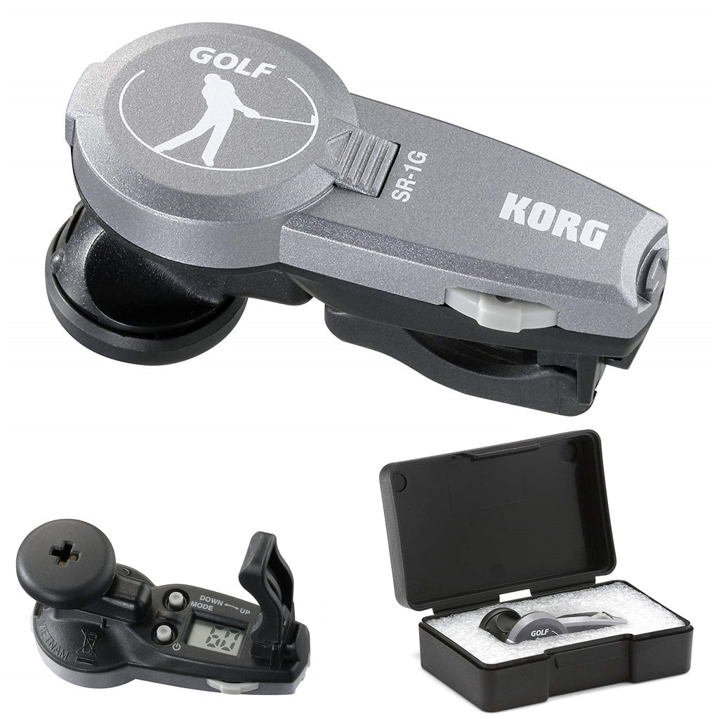 Korg StrokeRhythm In-Ear Golf Metronome, Grey