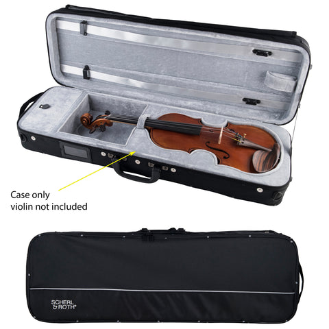Scherl & Roth 4/4 Oblong Shaped Lightweight Violin Case