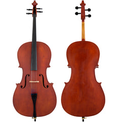 Scherl & Roth Arietta Student 1/2 Cello Outfit With Bag, Rosin And Bow