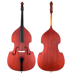 Scherl & Roth Arietta Student Double Bass 1/2 With French Bow, Bag, Rosin