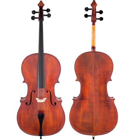 Scherl & Roth Hand Crafted Galliard Student 4/4 Cello With Bag, Rosin, Bow