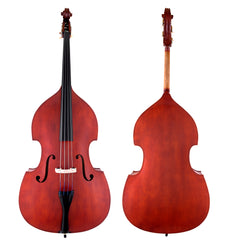 Scherl & Roth Hybrid Galliard Student Double Bass 1/4, French Bow, Bag, Rosin