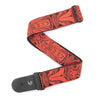 "D'Addario 2"" Guitar Strap, Tiki Mask - Red"
