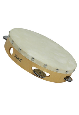 D'Luca Tambourine 9 Inches with Head