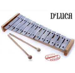 D'Luca 13 Notes Children Xylophone Glockenspiels with Music Cards