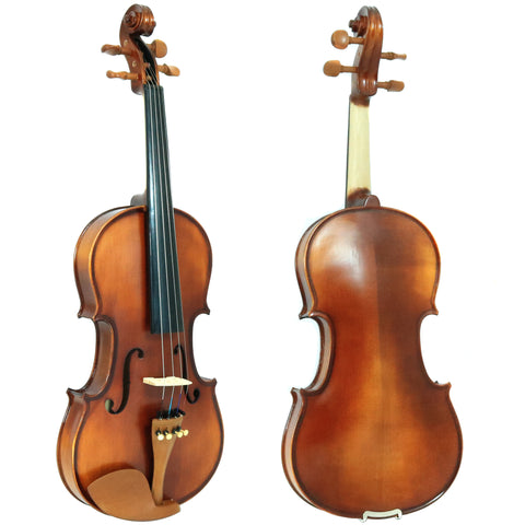 D'Luca Solid Wood Hand-Made Boxwood Violin 4/4 Full Size