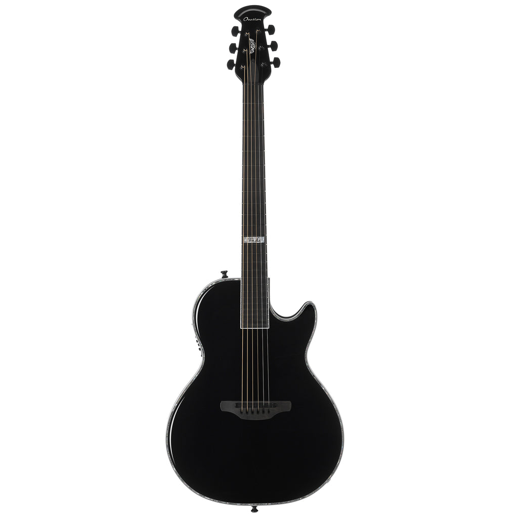 Ovation Signature Dave Amato Viper Acoustic Electric Guitar, Black