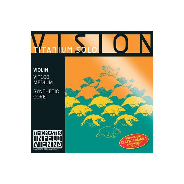Thomastik Infeld Vision Titanium Violin String Set 4/4