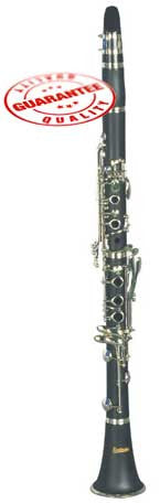 Hawk Bb Clarinet Outfit Matte Finish with Case, Mouthpiece and Reed