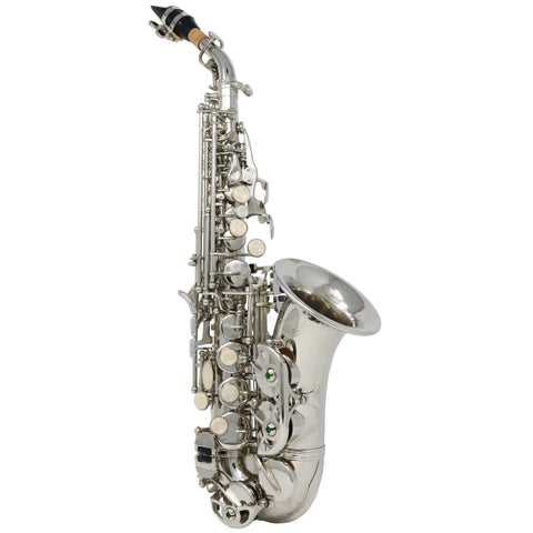 D/'Luca 350 Series Nickel Eb Alto Saxophone with 1 Year Manufacturer Warranty