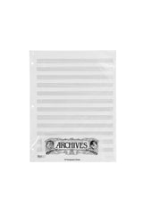 Archives Looseleaf Xerographic Manuscript Paper, 12 Stave, 50 Pages