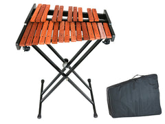 D'Luca 25 Notes Chromatic Wood Xylophone with Stand and Bag