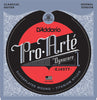 D'Addario EJ45TT ProArte DynaCore Classical Guitar Strings, Titanium Trebles, Normal Tension