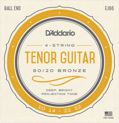 D'Addario EJ66 Tenor Guitar Strings