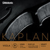 D'Addario Kaplan Viola Single A String, Long Scale, HeavyTension