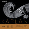 D'Addario Kaplan Bass String Set, 3/4 Scale, Medium Tension