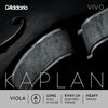 D'Addario Kaplan Vivo Viola A String, Long Scale, Heavy Tension
