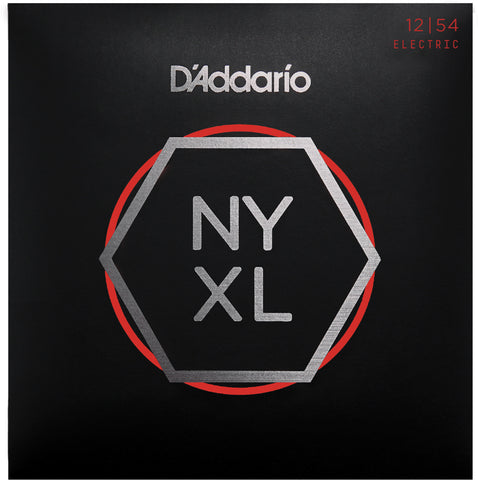 D'Addario NYXL1254 Nickel Wound Electric Guitar Strings, Heavy, 12-54