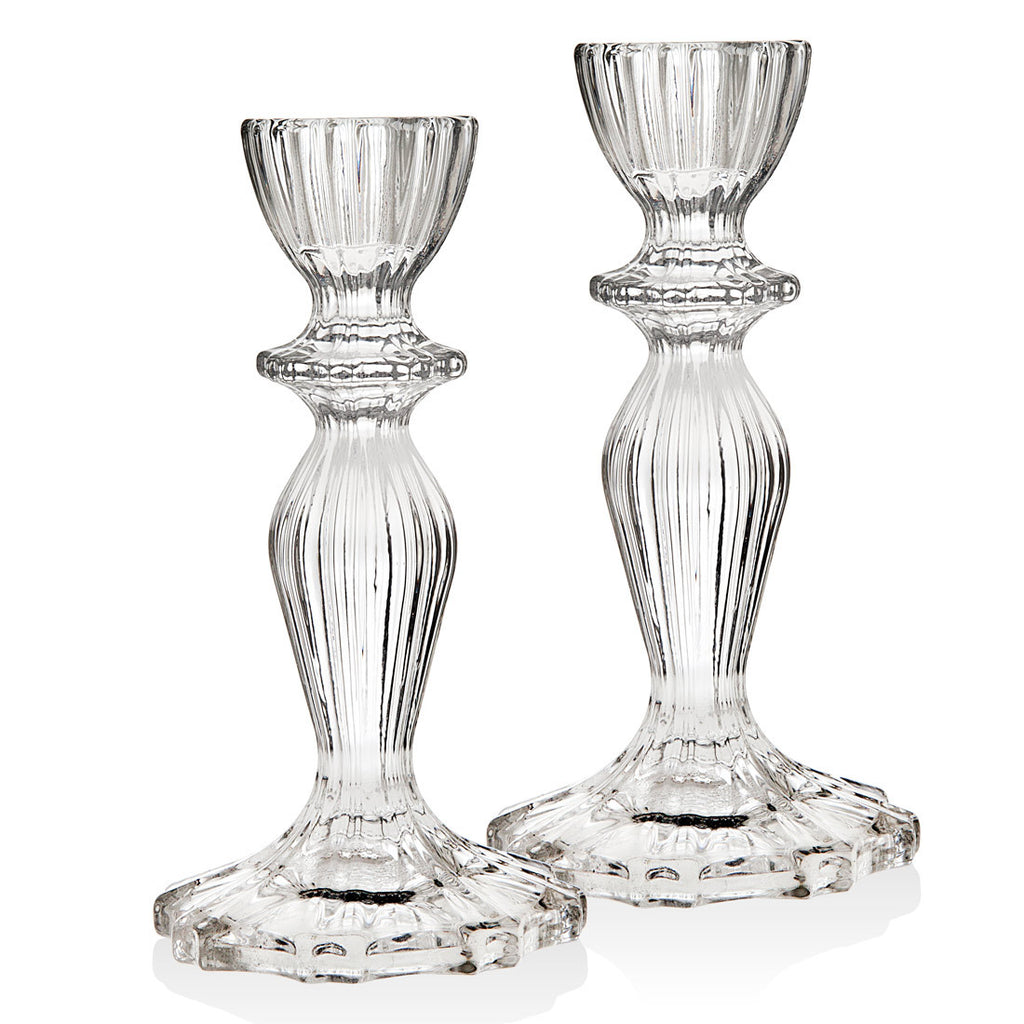 Atlantic 6 Inch Candlestick Pair