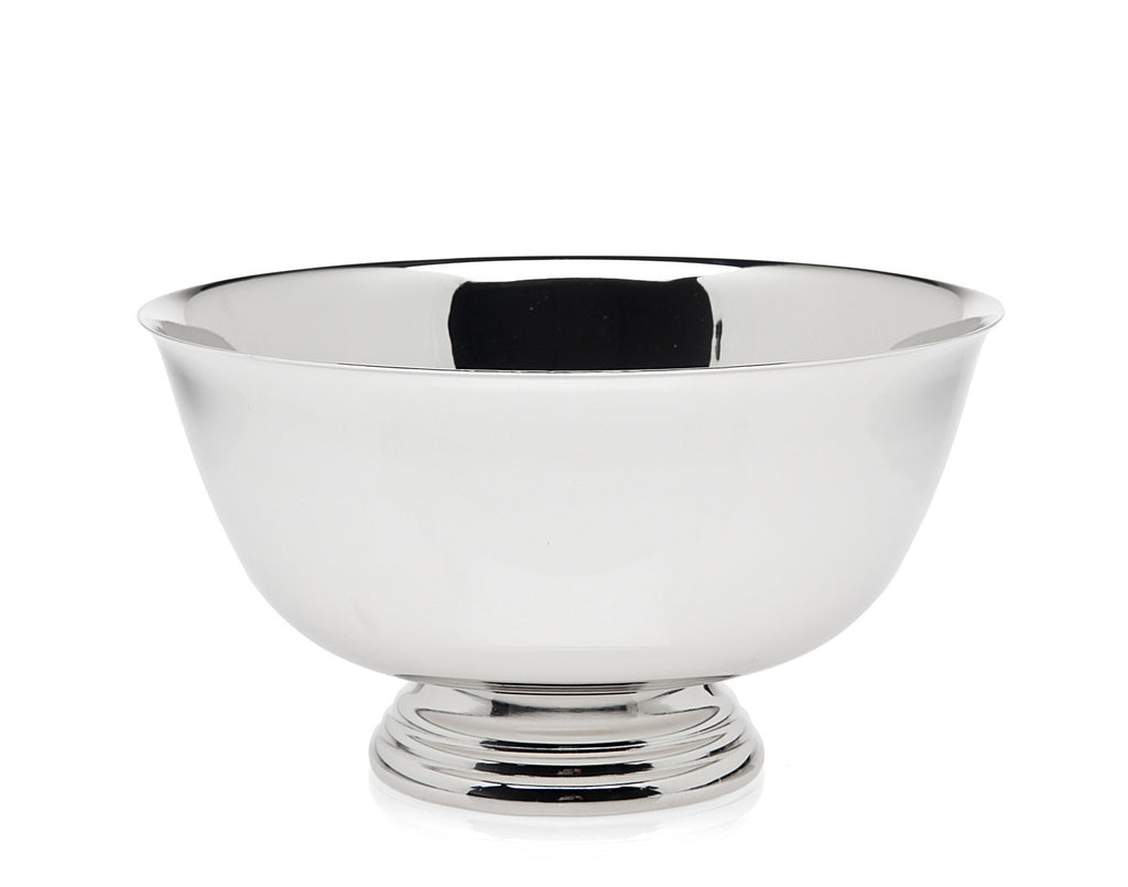 8 Inch Revere Bowl - Nickel Plate