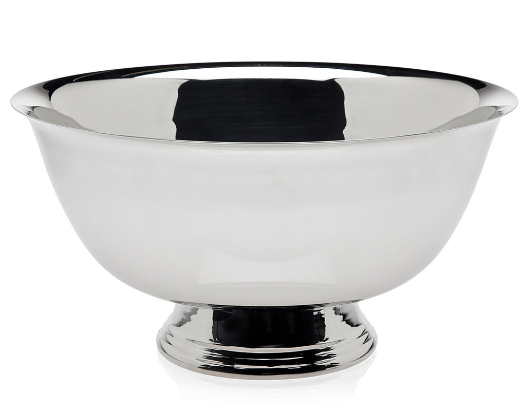 12 Inch Revere Bowl - Nickel Plate