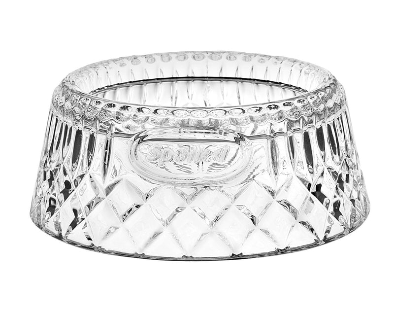 Crystal Dog Bowl