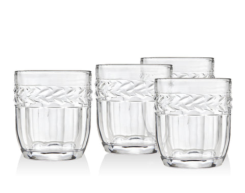 Classico Set Of 4 Double Old Fashioned Glasses