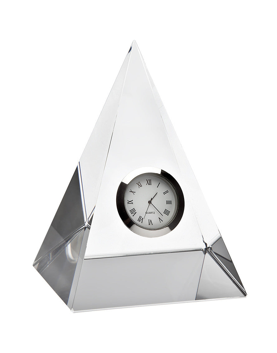 Pyramid Clock Crystal