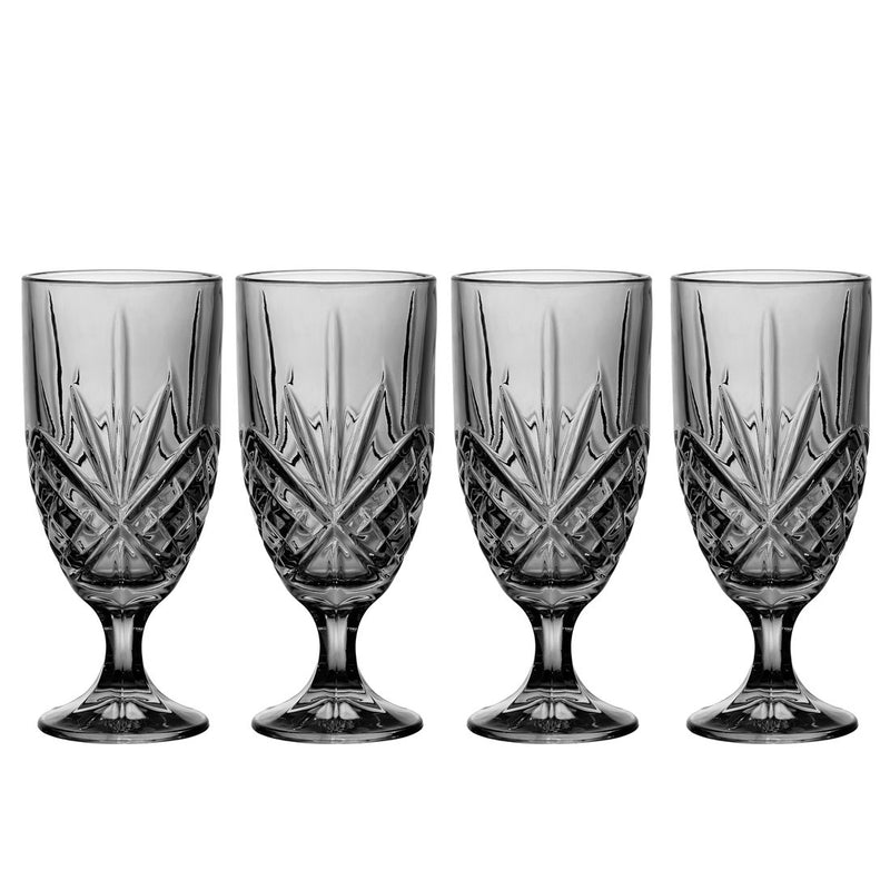 Dublin Midnight Set Of 4 Iced Beverage Glasses