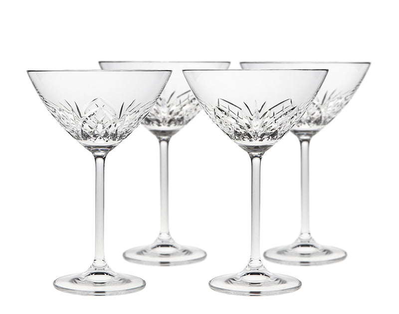 Dublin Reserve Martini Glasses Set of 4