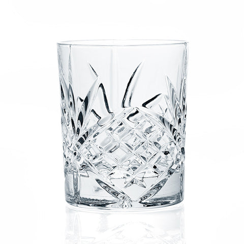 Dublin Set of 4 Double Old Fashioned Glasses - 8 Oz