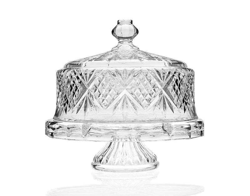 Dublin Footed Cake Plate with Dome